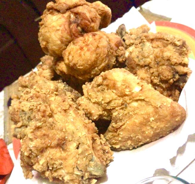 pollo a la broaster