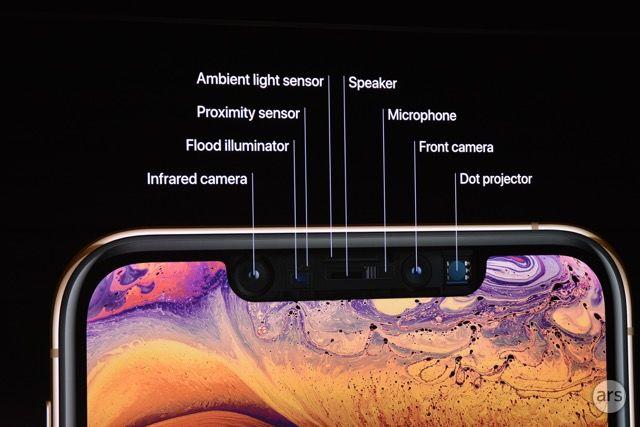 Apple quiere que nos sintamos convencidos de que las muescas de sus teléfonos están ahí por una buena razón, como lo demuestra esta disección del iPhone XS.