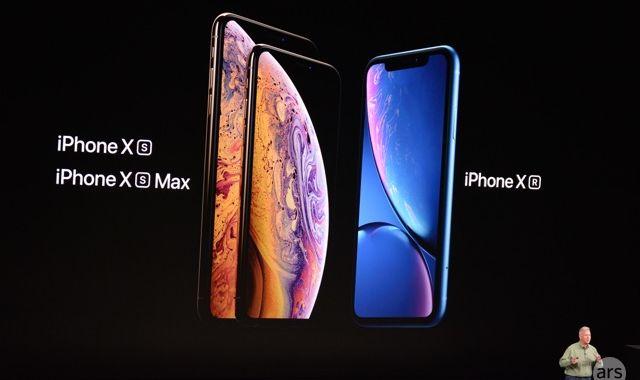 Apple anuncia iPhone XS, iPhone XS Max, iPhone XR el 21 de septiembre