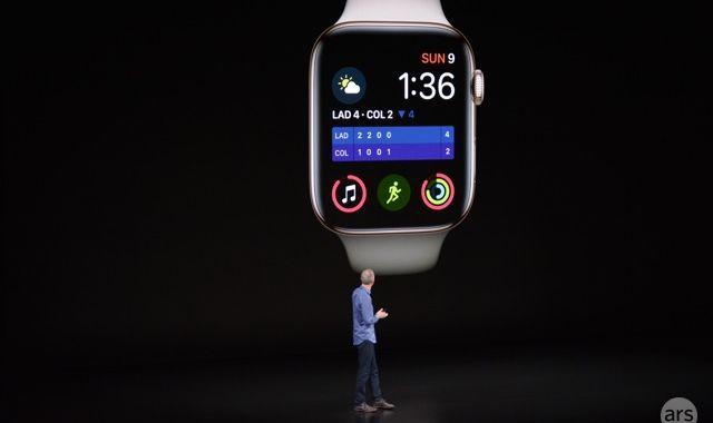 La pantalla deportiva más grande de Apple Watch Series 4 hasta la fecha en un dispositivo portátil de Apple